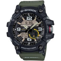Compare Prices For Casio G Shock Men S Black And Green Resin Strap Watch Gg 1000 1A3