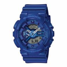 Best Offer Casio G Shock Men S Watch Resin Strap Blue Ga110Bc 2A Intl