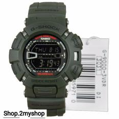 Casio G Shock Mud Man Army Colour G 9000 3Vdr Lowest Price