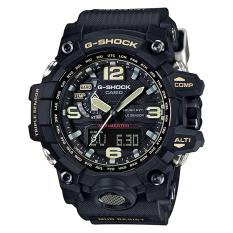 Buy Casio G Shock Mudmaster New Mud Resistance Triple Sensor Black Resin Strap Watch Gwg1000 1A Casio G Shock