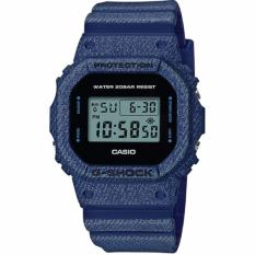 Best Buy Casio G Shock New Denim D Color Limited Models Dark Blue Resin Watch Dw5600De 2D