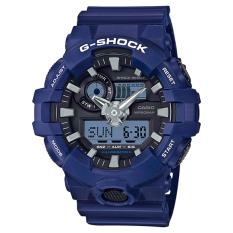 Casio G Shock New Ga 700 Blue Resin Band Watch Ga700 2A Discount Code