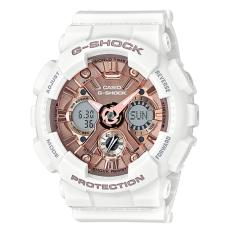 Sale Casio G Shock S Series New Gma 120 White Resin Band Watch Gmas120Mf 7A2 Singapore