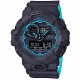 Coupon Casio G Shock Special Color Model Layered Neon Color Black Resin Strap Watch Ga700Se 1A2