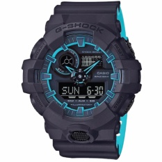 Price Casio G Shock Special Color Model Layered Neon Color Black Resin Strap Watch Ga700Se 1A2 Casio G Shock New