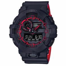 Retail Casio G Shock Special Color Model Layered Neon Color Black Resin Strap Watch Ga700Se 1A4