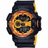 Casio G Shock Special Color Model Sporty Mix Design Theme Black Resin Band Watch Ga400By 1A Review