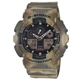 Casio G Shock Special Color Series Brown Resin Watch Ga100Mm 5A Ga 100Mm 5A Promo Code