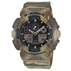 Best Buy Casio G Shock Special Color Series Brown Resin Watch Ga100Mm 5A Ga 100Mm 5A