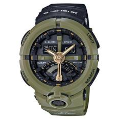 Price Casio G Shock Standard Analog Digital Green Resin Watch Ga500P 3A Ga 500P 3A Casio G Shock New