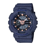 Casio G Shock Women S Navy Resin Strap Watch Ba 110De 2A1 Intl Free Shipping