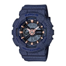 Who Sells The Cheapest Casio G Shock Women S Navy Resin Strap Watch Ba 110De 2A1 Intl Online