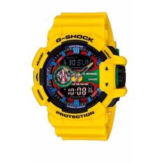 How To Get Casio Ga 400 9A G Shock Men S Yellow Resin Strap Watch