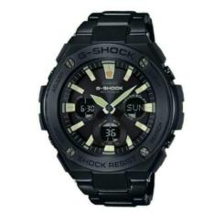 Compare Price Casio Gshock Gsteel Full Pvd Black Steel Tough Solar Watch With Luminous Index Gsts130Bd 1Adr On Singapore