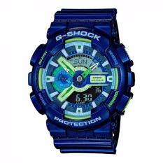 Sale Casio Gshock Latest Collection Metallic Blue Ga110Mc 2Adr Casio G Shock
