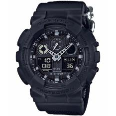Review Casio Gshock Latest Cordura Nylon Fabric Stealth Watch Ga100Bbn 1Adr Casio G Shock On Singapore