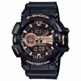 Review Casio Gshock Matt Black With Rose Gold Dial Ga400Gb 1A4Dr Singapore