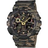 Compare Price Casio Gshock Military Green Camouflage Series With Gold Analogue Hands Ga100Cm 5 Casio G Shock On Singapore