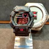 Discount Casio Gshock Stealth Black Bull Bars Digital Watch With Red Display Gd400 1Dr