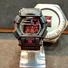 Buy Casio Gshock Stealth Black Bull Bars Digital Watch With Red Display Gd400 1Dr
