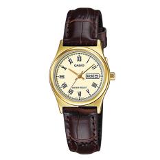 Who Sells Casio Ladies Standard Analog Brown Leather Strap Watch Ltpv006Gl 9B Ltp V006Gl 9B
