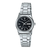 Casio Ladies Standard Analog Silver Stainless Steel Band Watch Ltpv006D 1B Ltp V006D 1B Lower Price