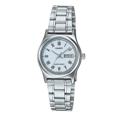 Store Casio Ladies Standard Analog Silver Stainless Steel Band Watch Ltpv006D 2B Ltp V006D 2B Casio On Singapore