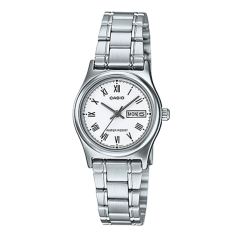 Casio Ladies Standard Analog Silver Stainless Steel Band Watch Ltpv006D 7B Ltp V006D 7B Sale