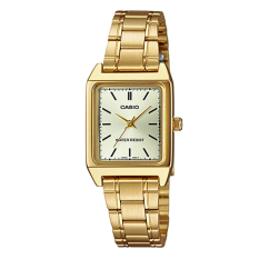 Discounted Casio Ladies Analog Series Stainless Steel Watch Ltpv007G 9E
