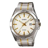 Sale Casio Men S Standard Analog Two Tone Stainless Steel Band Watch Mtp1308Sg 7A Mtp 1308Sg 7A Casio