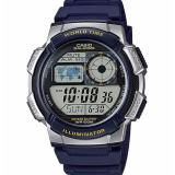 Price Casio Men S Blue Resin Strap Watch Ae 1000W 2Avdf Casio Original
