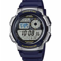 Get The Best Price For Casio Men S Blue Resin Strap Watch Ae 1000W 2Avdf