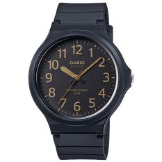 Great Deal Casio Men S Standard Analog Resin Band Watch Mw240 1B2