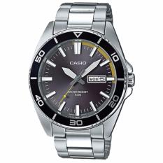 Price Casio Men S Standard Analog Silver Stainless Steel Band Watch Mtd120D 8A Casio Singapore