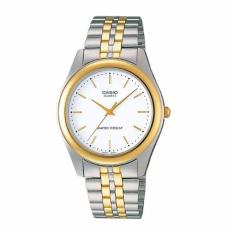 Wholesale Casio Mtp 1129G 7A Men Gold Tone Stainless Steel Analog Watch Mtp 1129G