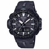 Purchase Casio Protrek Prw 6100 Series Of Triple Sensor Black Resin Band Watch Prw6100Y 1B Prw 6100Y 1B
