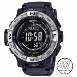 Brand New Casio Protrek Tough Solar Multiband Prw 3510 1 With Silicone Band