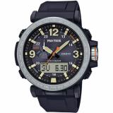 Buying Casio Protrek Triple Sensor Version 3 Black Resin Band Watch Prg600 1D