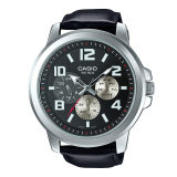 Sale Casio Standard Analog Black Leather Strap Men S Watch Mtpx300L 1A