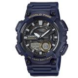 Top 10 Casio Standard Analog Digital Dark Blue Resin Watch Aeq110W 2A Aeq 110W 2A