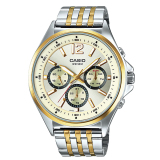 Retail Price Casio Men S Standard Analog Silver Gold Stainless Steel Band Watch Mtpe303Sg 9A Mtp E303Sg 9A