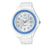 Price Casio Women S Standard Analog White Resin Band Watch Lx500H 2B Lx 500H 2B Singapore