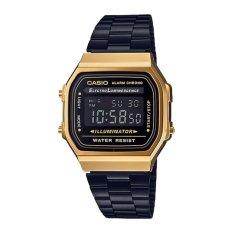 Cheapest Casio Women S Standard Digital Black Stainless Steel Band Watch A168Wegb 1B Online