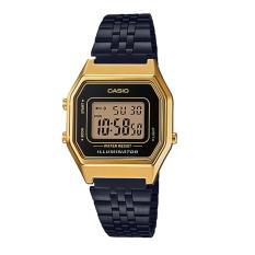 Price Casio Standard Digital Black Ion Plated Stainless Steel Watch La680Wegb 1A Online Singapore