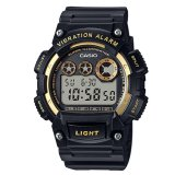 Casio Standard Digital Black Resin Strap Watch W735H 1A2 Best Price