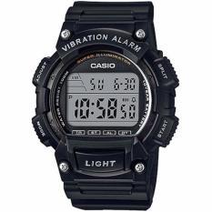 Price Casio W 736H 2A Men Black Resin Digital Super Illuminator Online Singapore