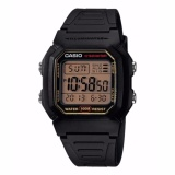 Casio W 800Hg 9Av Digital Sports Watch Gold Boarder Intl Sale