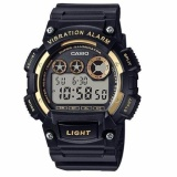 Cheap Casio W735H 2A Standard Digital Men S Blue Resin Strap Watch Black