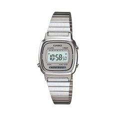 Price Casio Women S Stainless Steel Strap Watch La670Wa 7D Casio Singapore