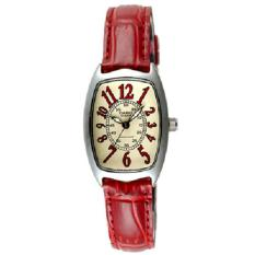 Casio Women S Red Leather Dress Watch Ltp 1208E 9B2Df For Sale